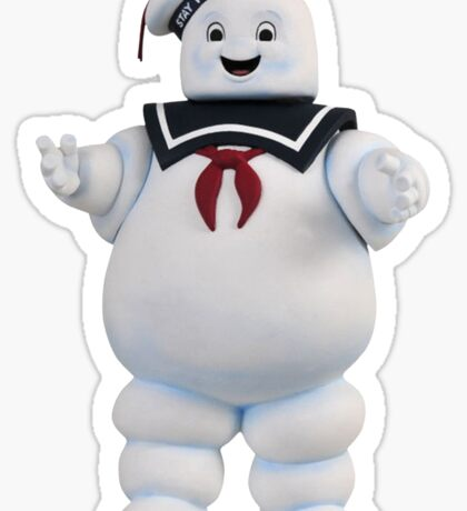 Ghostbusters Stay Puft Marshmellow Man Sticker