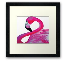 Pink Flamingo 1 Framed Print
