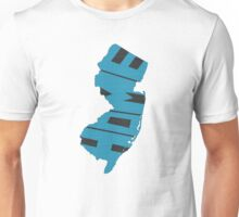 New Jersey HOME state design Unisex T-Shirt
