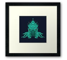 Cthulhu Graphic Framed Print