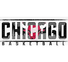 Chicago Bulls Ice Photographic Print
