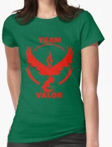 Team Valor - Pokemon Go Womens Fitted T-Shirt