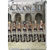 Attack On Titan 07 iPad Case/Skin