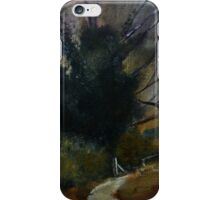 Ancient English Tree Countryside Painting Acrylics On Canvas iPhone Case/Skin