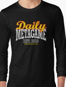 Daily Metagame Sport Red Stroke Long Sleeve T-Shirt