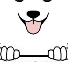 Samoyed On Board Sticker