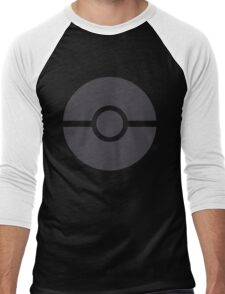 Pokéball minimalist Men's Baseball ¾ T-Shirt