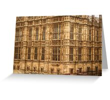 Closer Look at Westminster Palace Greeting Card