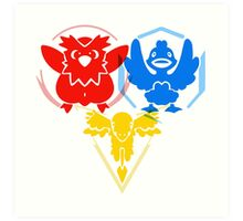 Pokerman Geddum- All Teams Art Print