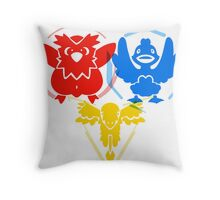 Pokerman Geddum- All Teams Throw Pillow