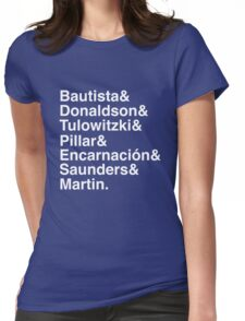 Blue Jays Top 7 Womens Fitted T-Shirt