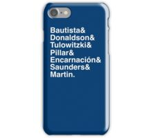 Blue Jays Top 7 iPhone Case/Skin