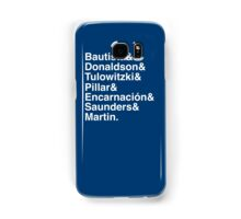 Blue Jays Top 7 Samsung Galaxy Case/Skin