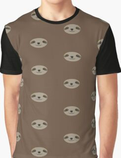 Lazy Sloth Graphic T-Shirt