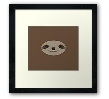 Lazy Sloth Framed Print