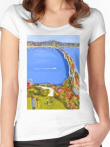 Our little spot Women's Fitted Scoop T-Shirt