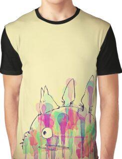 Ink Totoro Graphic T-Shirt