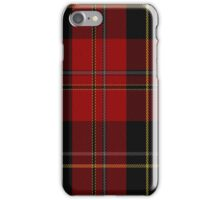 02283 Mystery Kilt Unidentified Tartan  iPhone Case/Skin