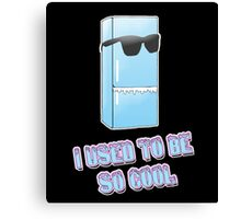 I used to be so cool Canvas Print