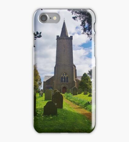 Blessed Virgin Mary Church, Rattery iPhone Case/Skin
