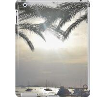 Sunset Amongst Palm Trees iPad Case/Skin