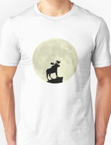 Midnight Moose Unisex T-Shirt