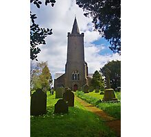 Blessed Virgin Mary Church, Rattery Photographic Print