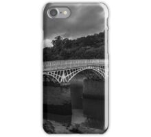 The Old  Bridge Over The Wye At Chepstow iPhone Case/Skin