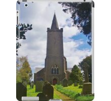 Blessed Virgin Mary Church, Rattery iPad Case/Skin