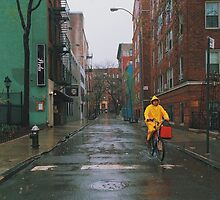 Rainy Delivery by mar78me