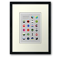 The Teams : Tour de France 2014 Framed Print