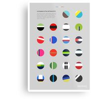 The Teams : Tour de France 2014 Metal Print