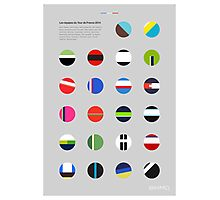 The Teams : Tour de France 2014 Photographic Print