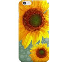 Happy Bubbly Sunflowers iPhone Case/Skin
