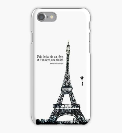 Make your life a dream of a dream and a reality iPhone Case/Skin