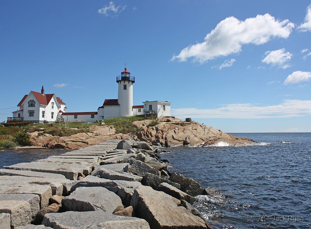 Eastern Point Lighthouse by Jack Ryan