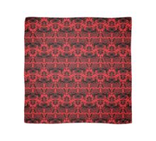 I Love Craft (Cthulhu Damask Red and Black) Scarf