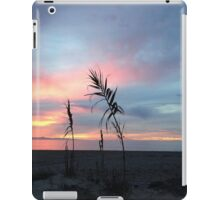 Sunset on the beach iPad Case/Skin