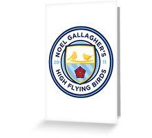 Noel Gallagher's High Flying Birds Crest Greeting Card