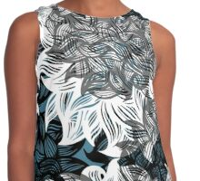 floral pattern Contrast Tank