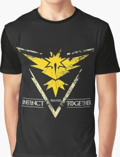 Team Instinct Stands Together(PokeGO! + GoT) Graphic T-Shirt