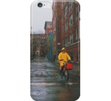 Rainy Delivery iPhone Case/Skin