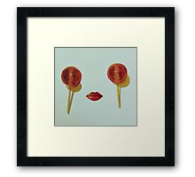 Lollipops Framed Print