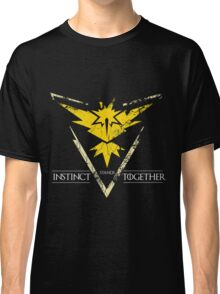 Team Instinct Stands Together(PokeGO! + GoT) Classic T-Shirt