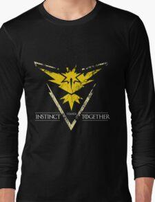 Team Instinct Stands Together(PokeGO! + GoT) Long Sleeve T-Shirt