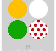 The Jerseys : Tour de France 2014 by bikmo
