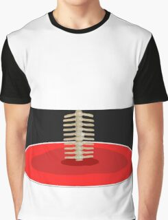 Human Spine by BK Design Graphic T-Shirt
