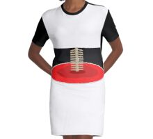 Human Spine by BK Design Graphic T-Shirt Dress
