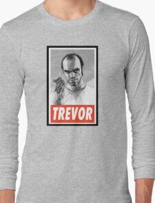 (GEEK) Trevor Long Sleeve T-Shirt