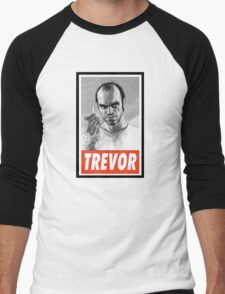 (GEEK) Trevor Men's Baseball ¾ T-Shirt